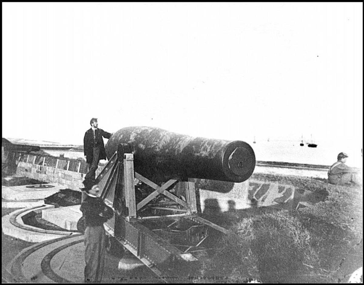 "This a Rodman big gun, but this is not the ""Monster Rodman"", a slightly larger gun"