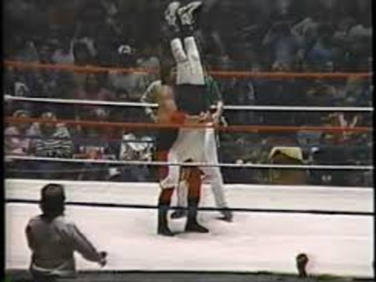 Lawler's piledriver is a thing of beauty. He executes it with the grace of a seasoned swan.