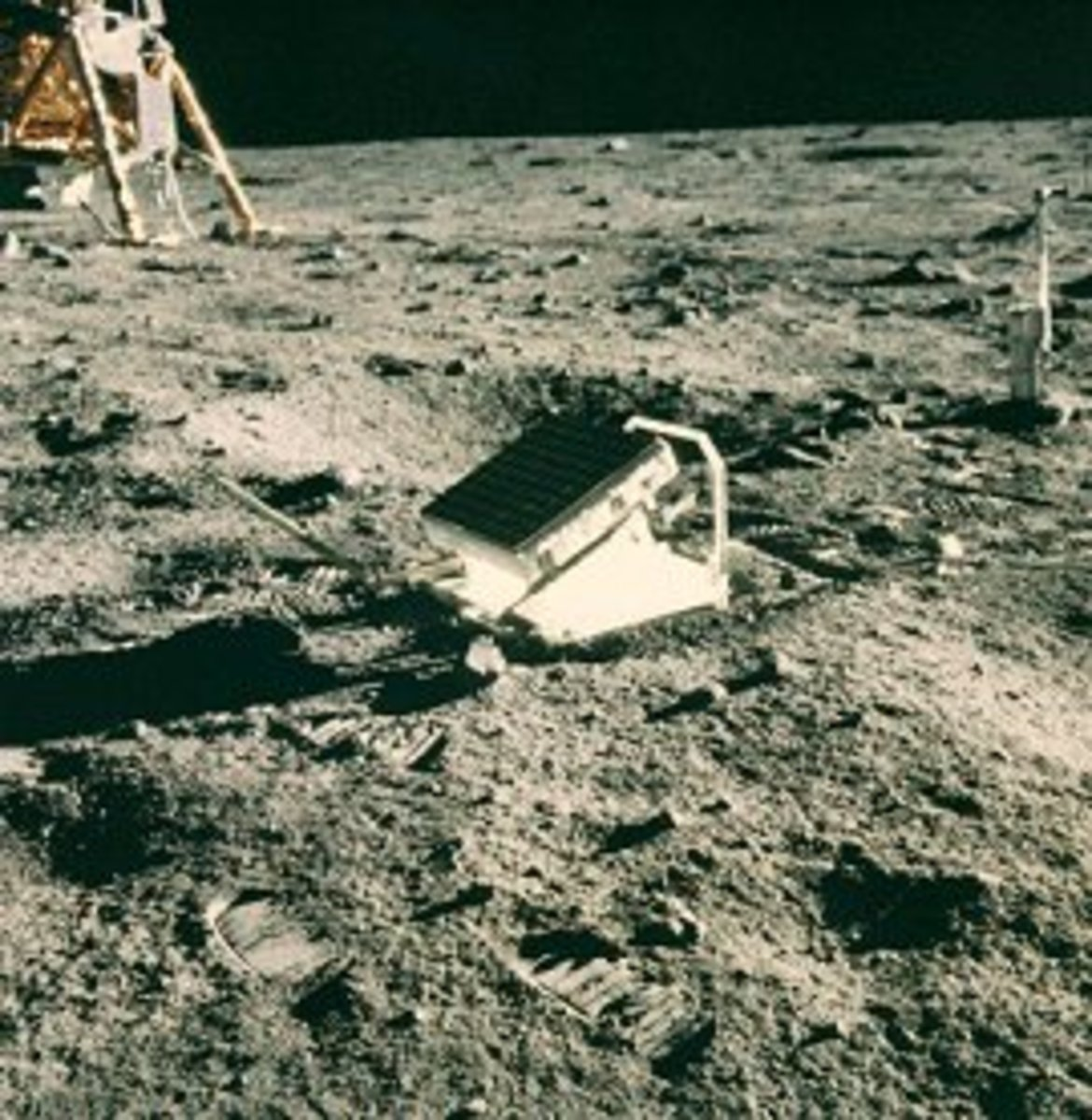Mirrors on the moon. Lunar laser ranging retroreflector array.