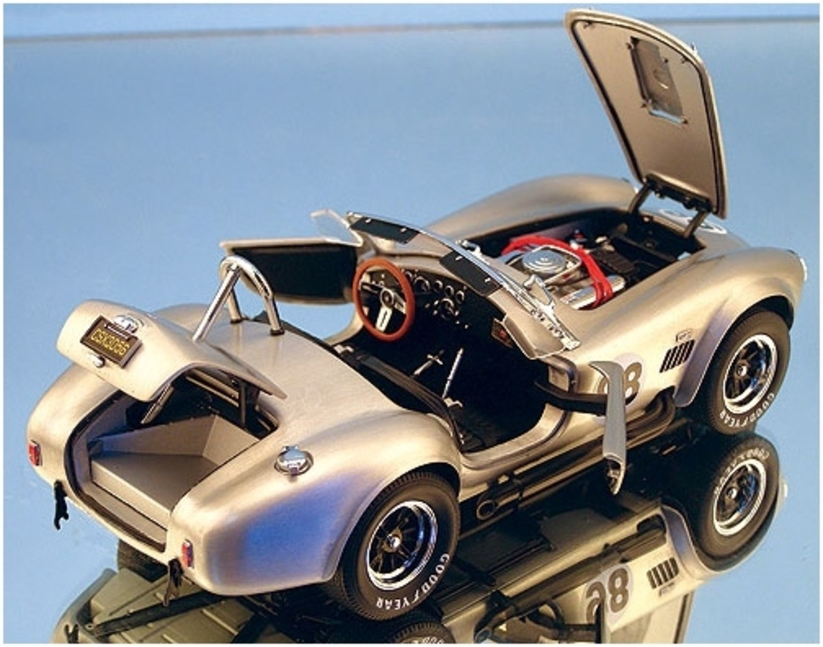 1966 Shelby Cobra 427 S/C in Aluminum Diecast by Franklin Mint