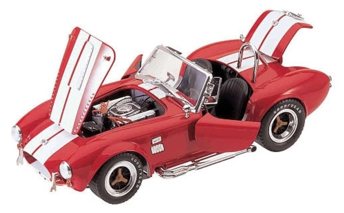 Shelby Cobra 427 S/C Red Diecast