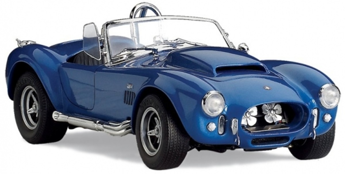 1966 Shelby Cobra 427 Super Snake Diecast by Franklin Mint