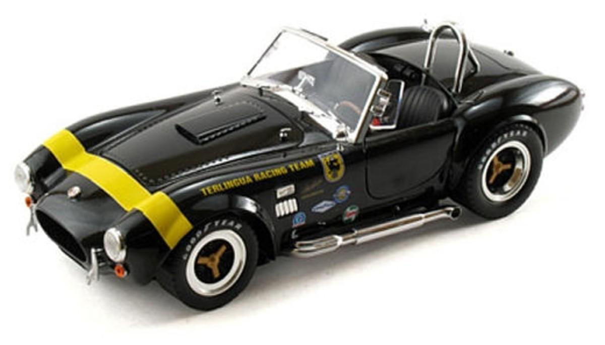 Shelby Cobra 427 S/C Terlingua Racing Team Diecast