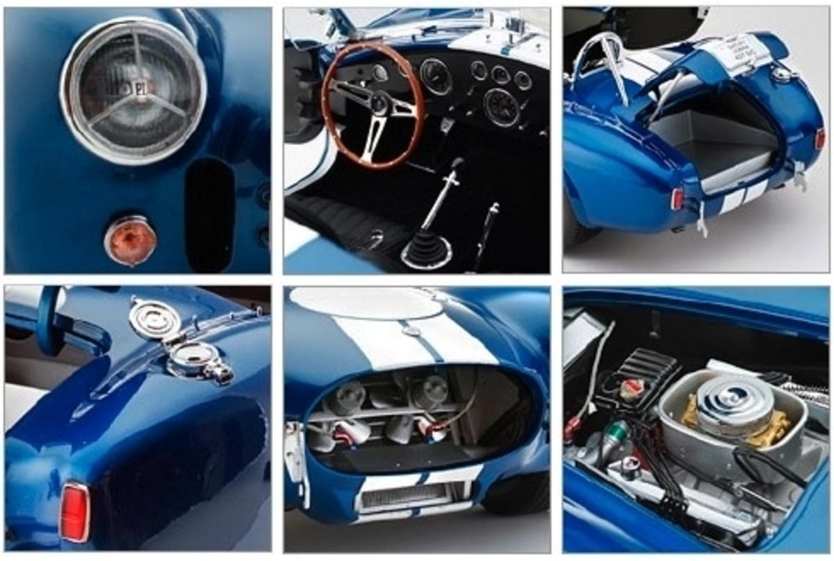 Shelby Cobra 427 S/C by Kyosho 08631GBL