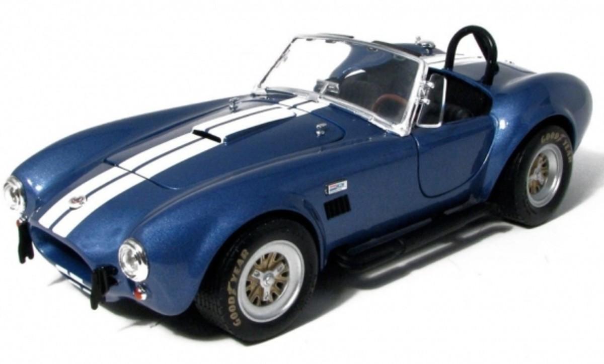 Shelby Cobra 427 S/C Blue Diecast