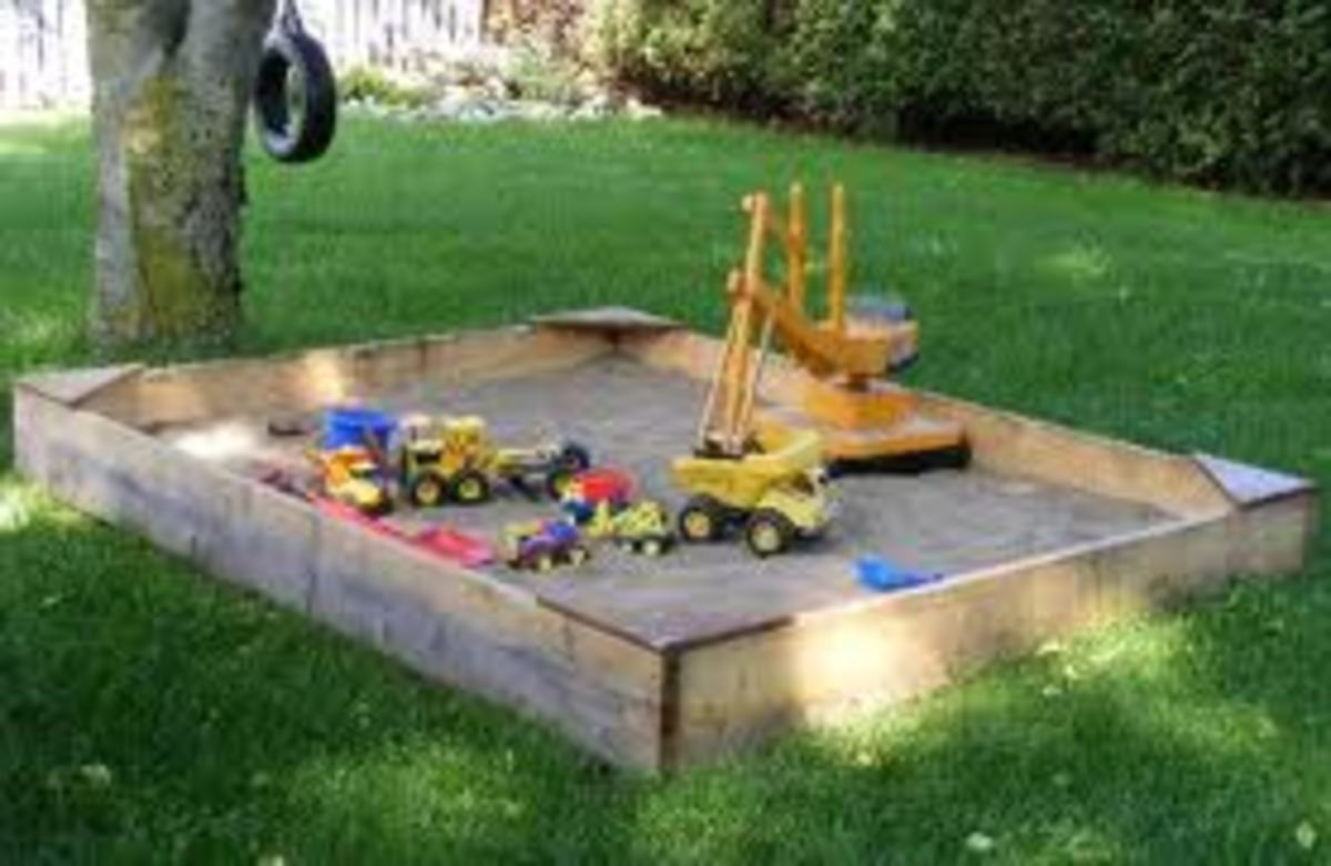 how-to-build-a-sandbox-or-sandpit-how-to-create-a-fish-pond-from-your-kids-old-sandpit