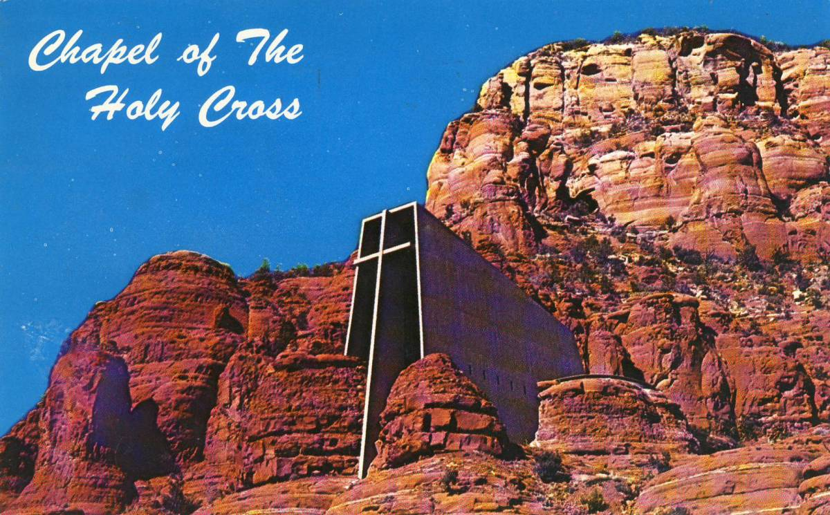 Chapel of the Holy Cross Sedona Arizona Marguerite Brunswig Staude