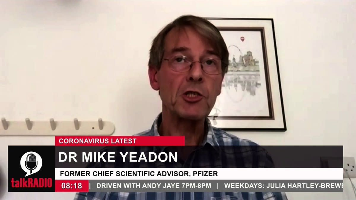 Former Chief Science Officer for Pfizer Says