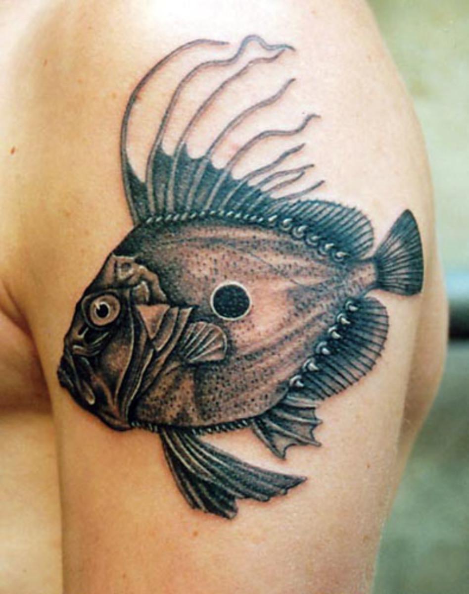 Unique Fish Tattoos
