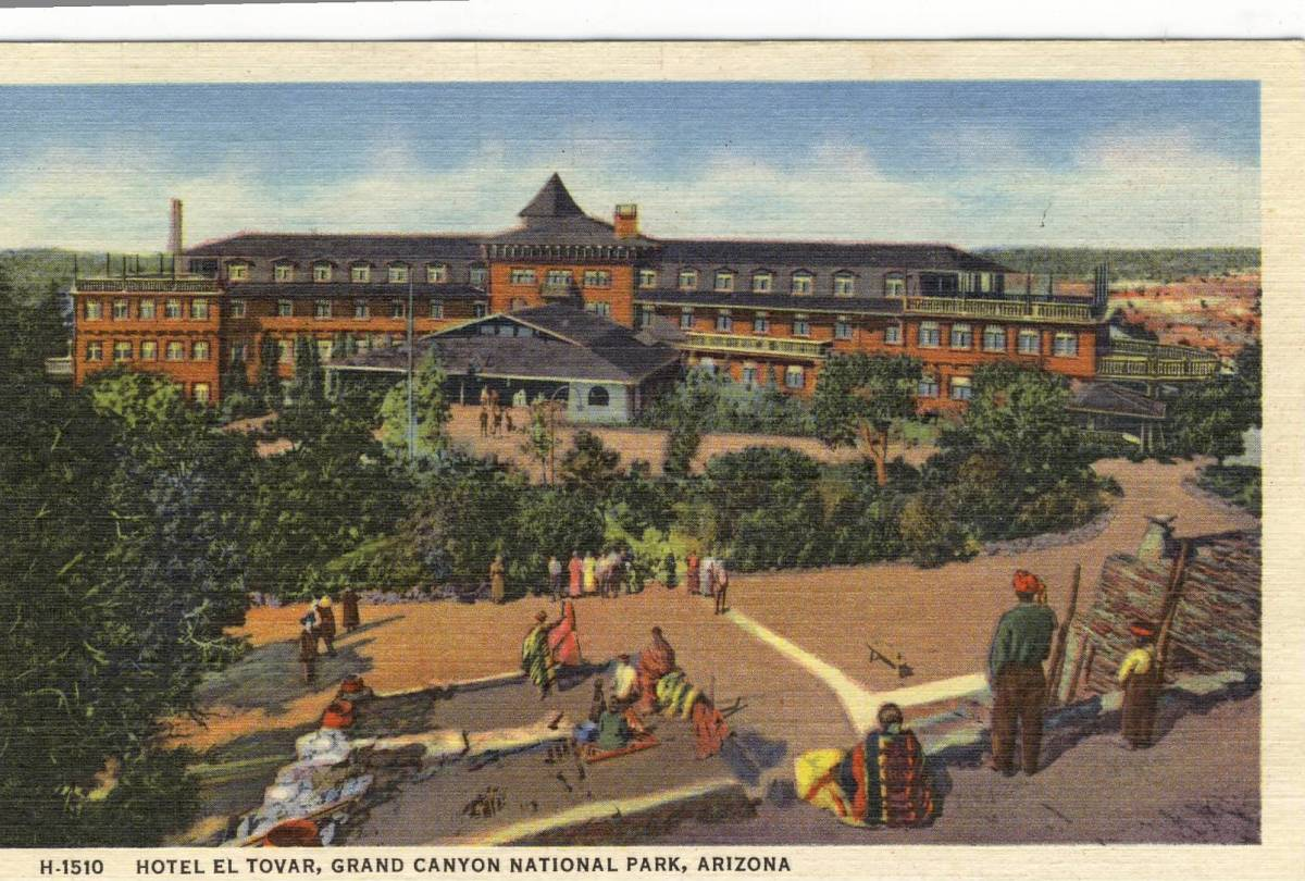 One Hundred Years of El Tovar Hotel and Hopi House  Grand Canyon Arizona