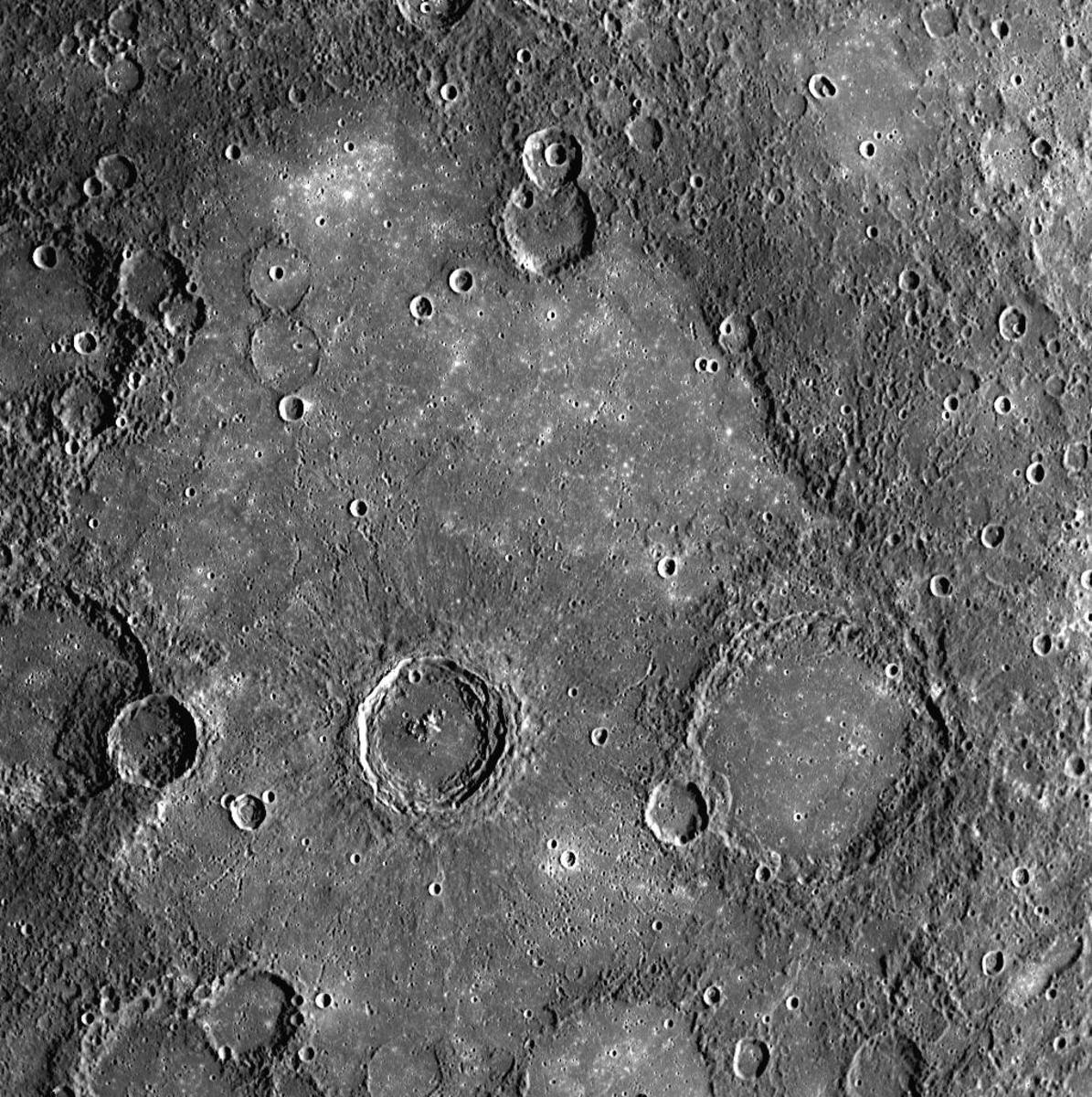 A Volcanic Plain on Mercury