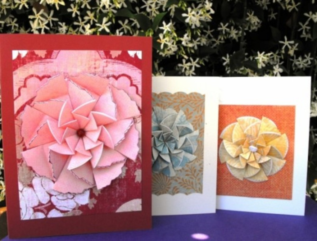Two Sizes of Greeting Cards