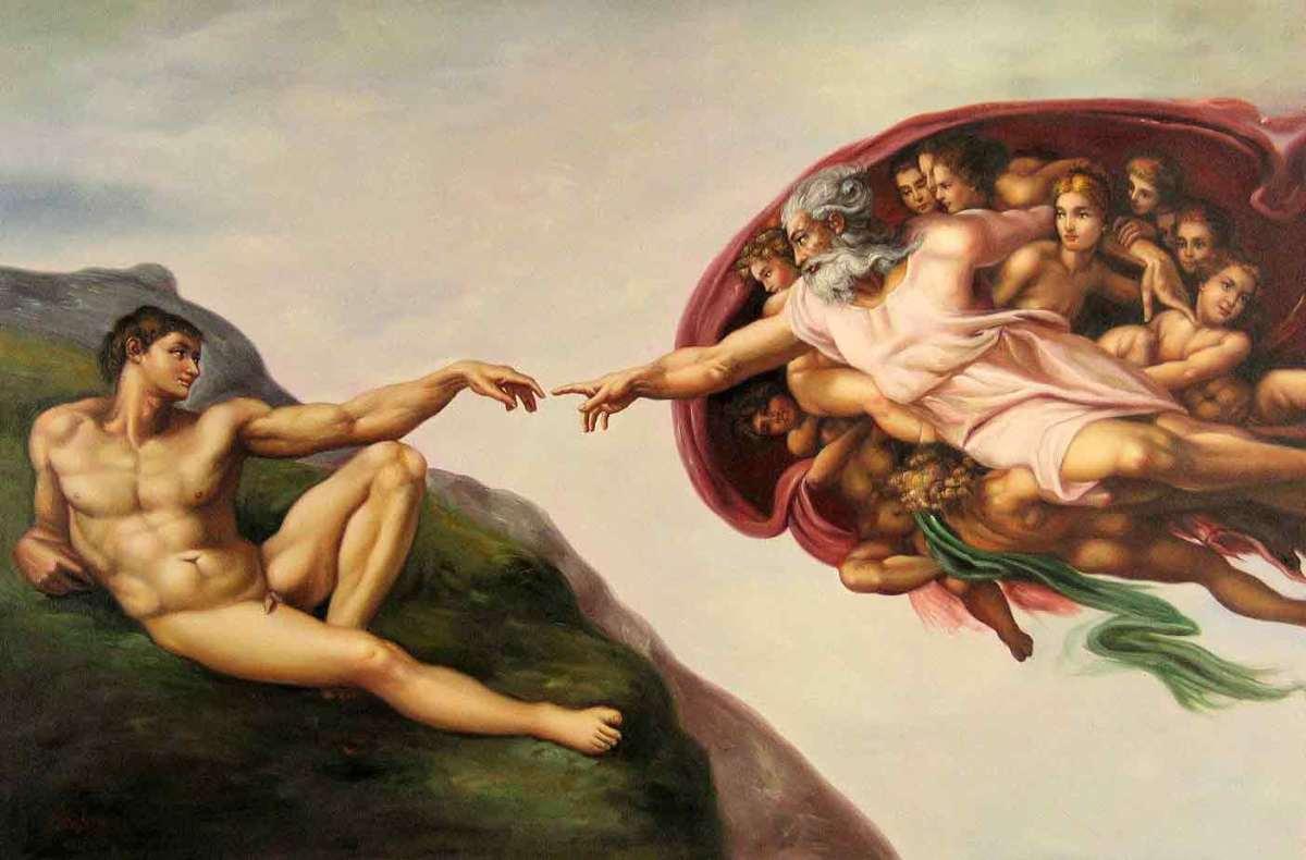The Creation of Adam- Michelangelo