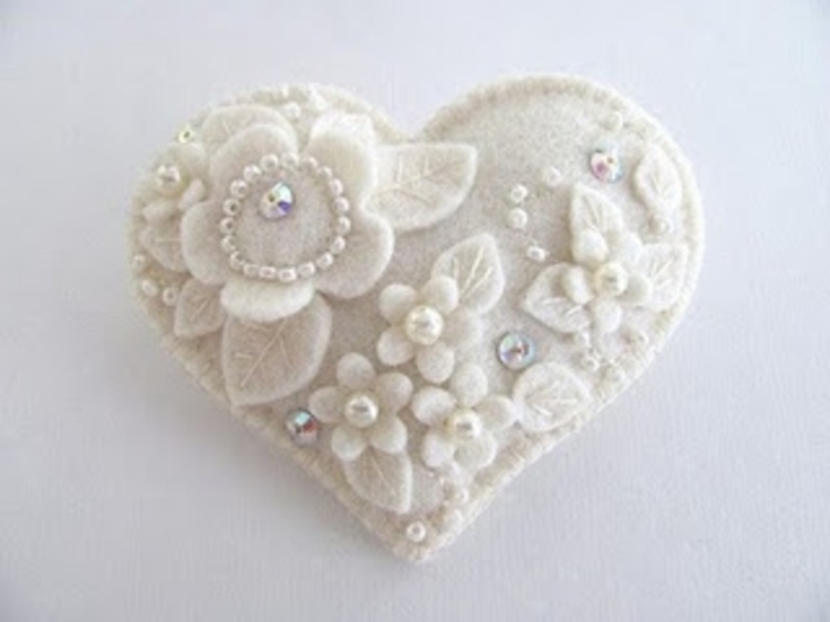 Felt Crafts Heart