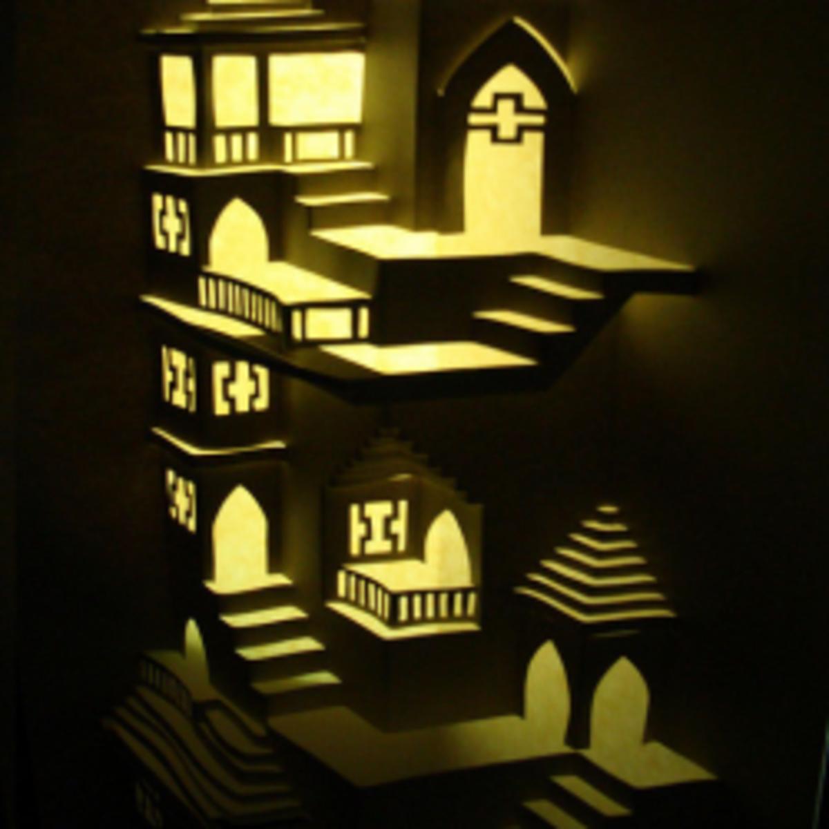 Origamic Architecture Instructions & Free Kirigami ...