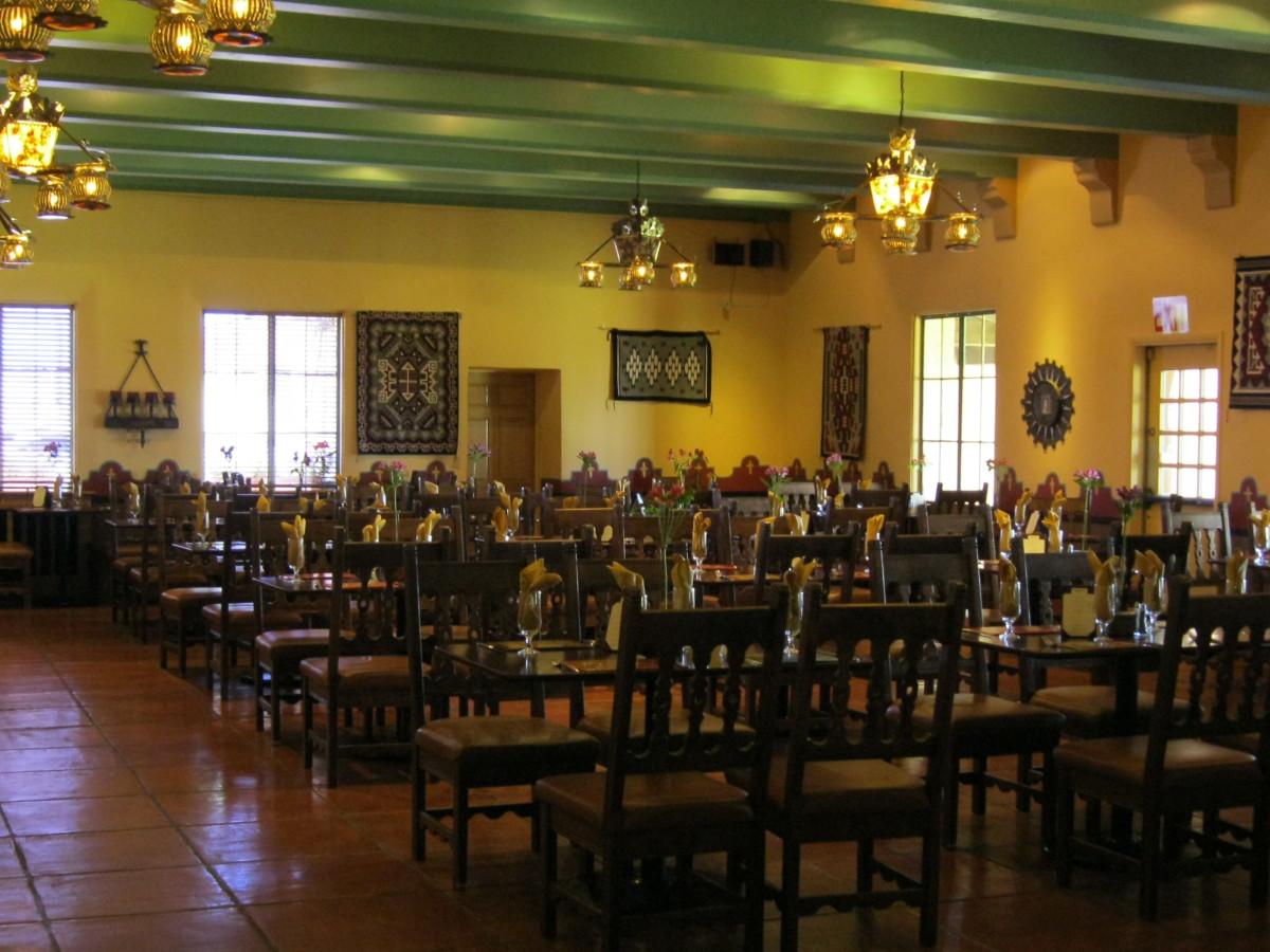Dining Room, La Posada June 2011