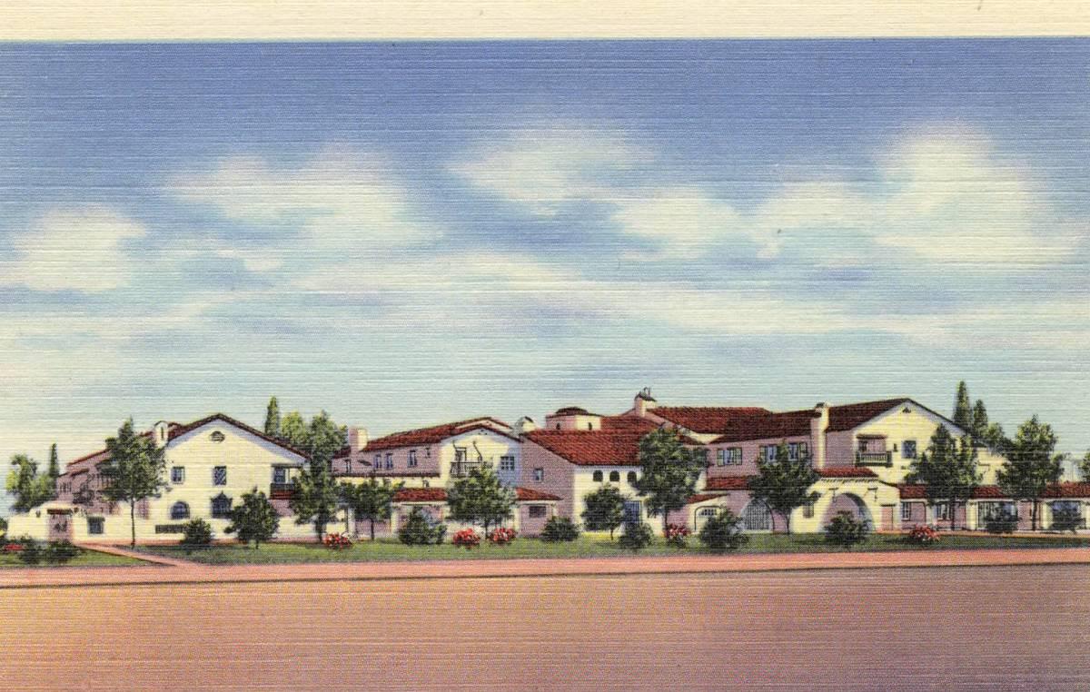 La Posada Hotel, Winslow Arizona.  Designed by Mary Jane Coulter for Fred Harvey.