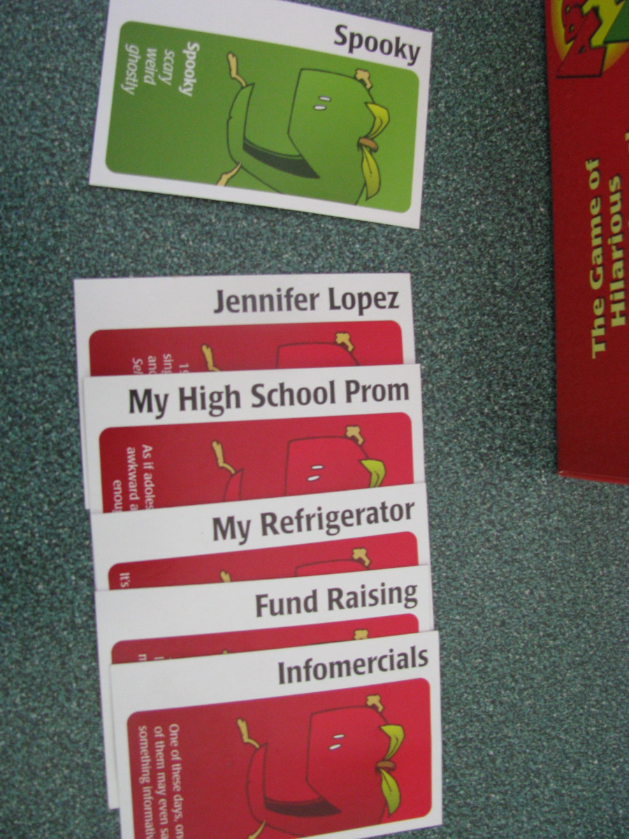 Apples to Apples--Example 1