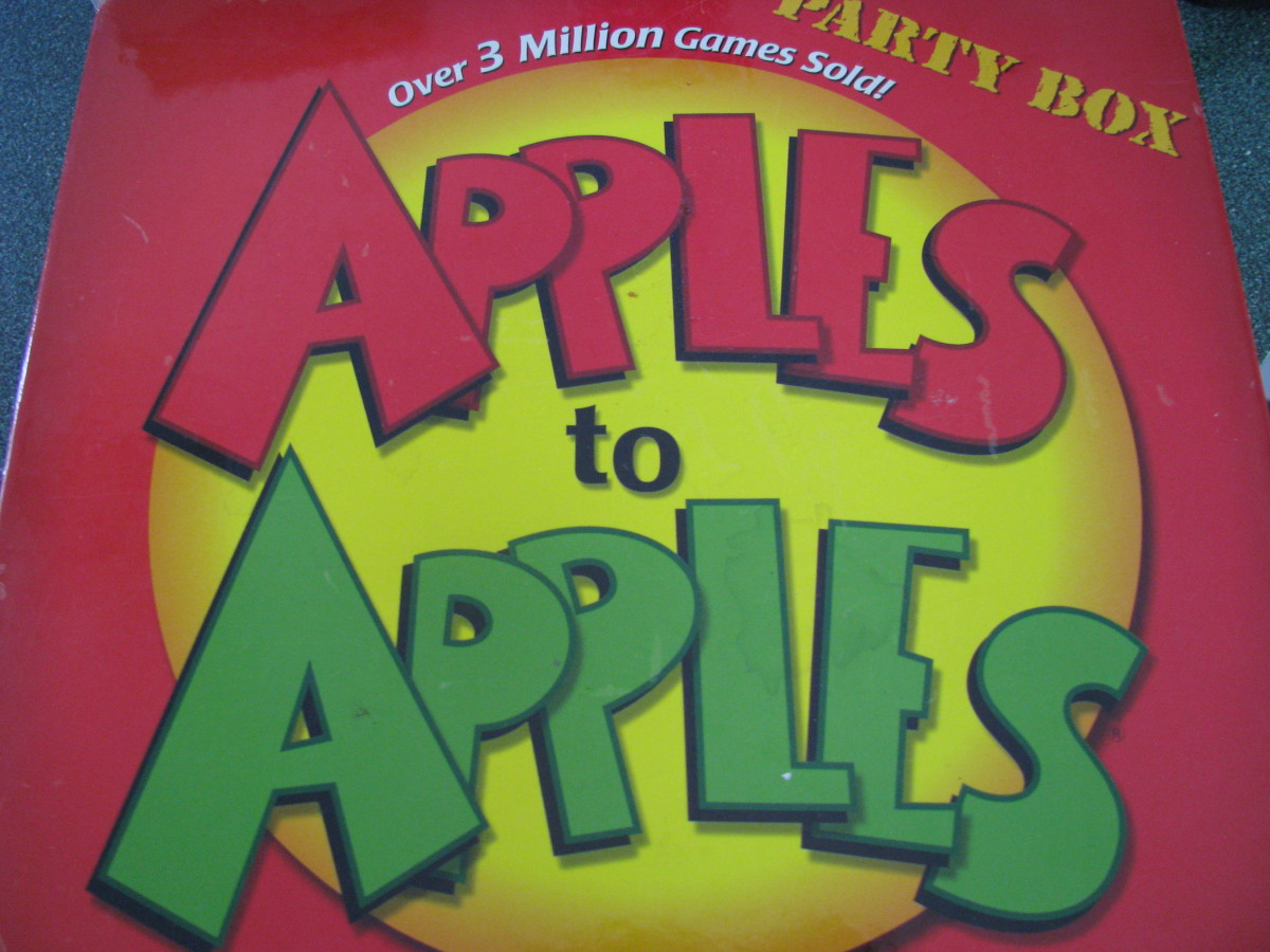 Review of Apples to Apples Game: Fun Card Game for Families (With Examples)