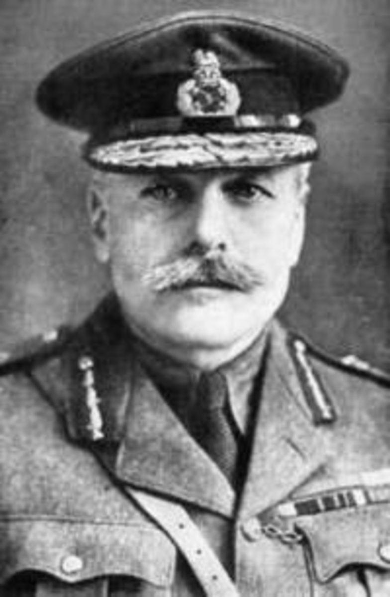 General Fiuglas Haig. see: http://en.wikipedia.org/wiki/Douglas_Haig,_1st_Earl_Haig