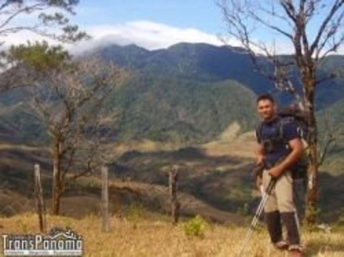 Rick Morales â the first TransPanama Trail thru-hiker.