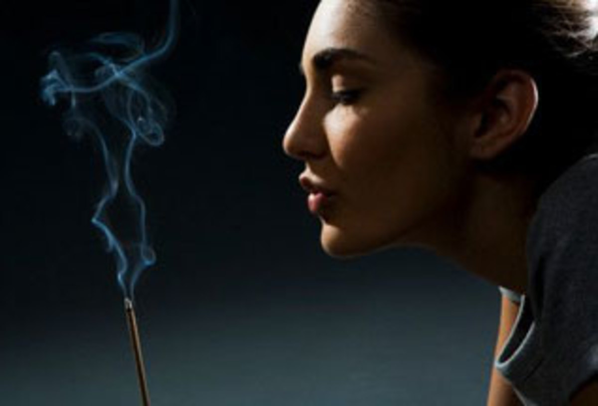 Incense is a great Feng Shui instrument