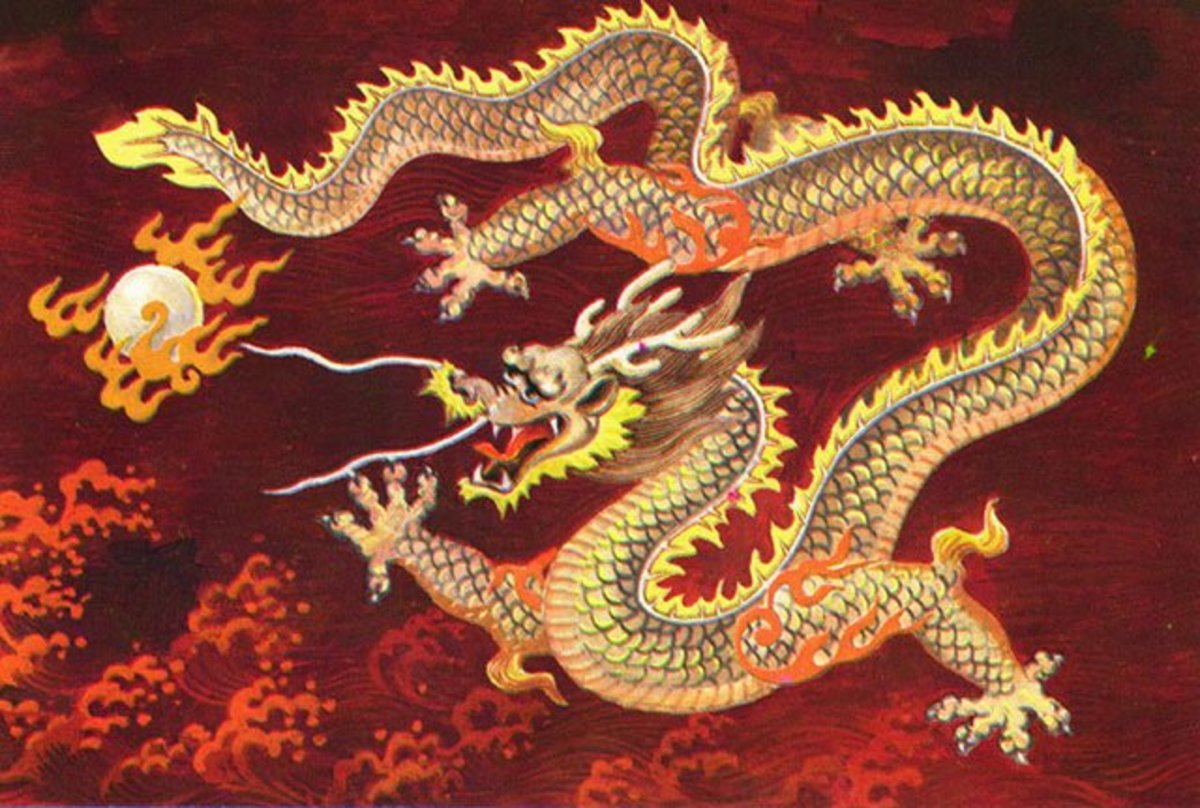 Chinese dragon - attracts wealth