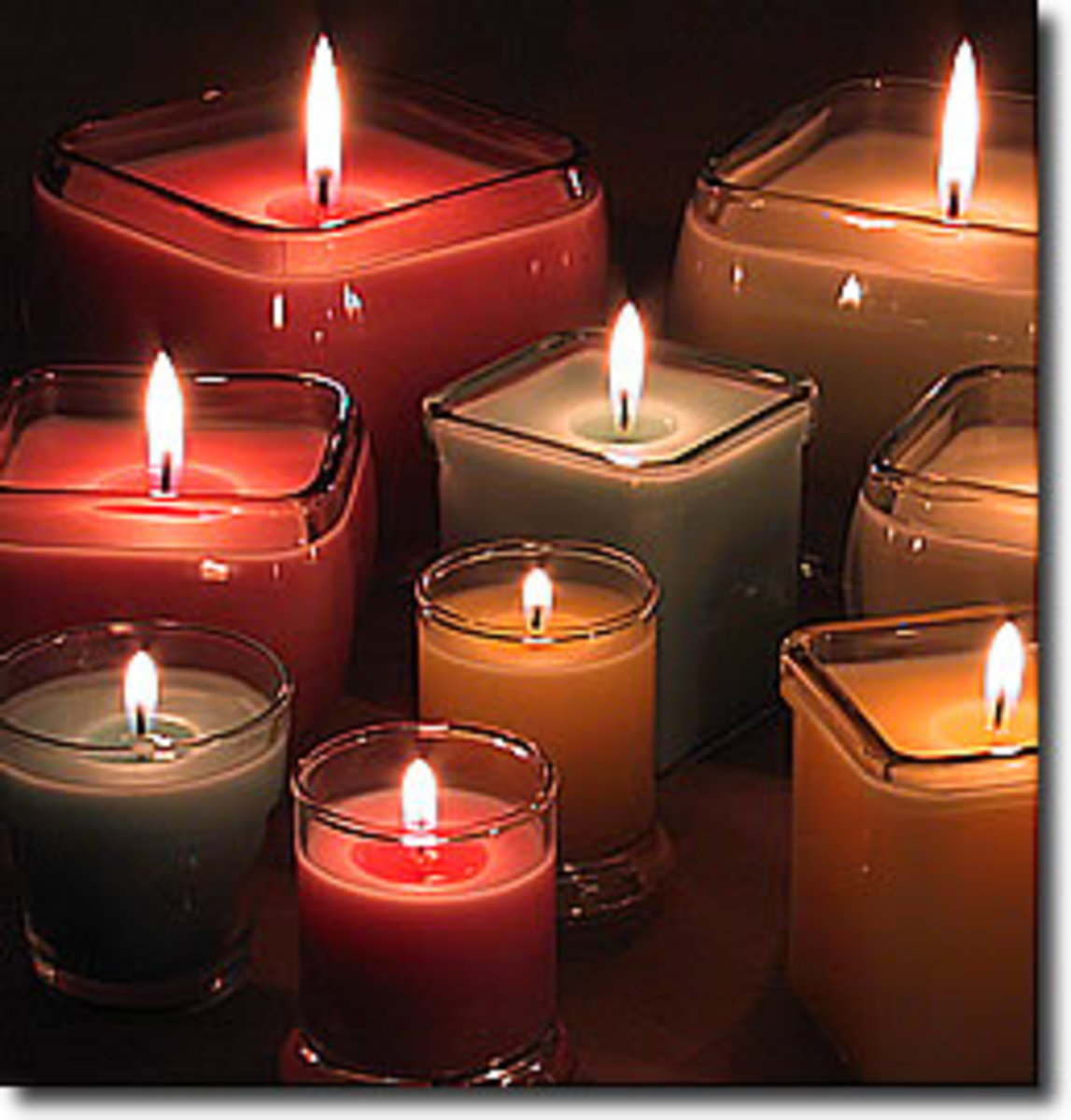 Candles make the passion burn