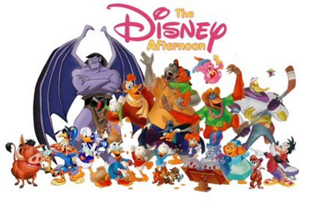 Disney had some of the best cartoons on television as well.
