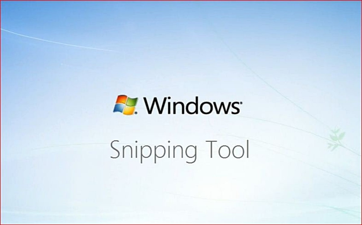 How To Use Microsoft Windows Snipping Tool - with Tutorial Video