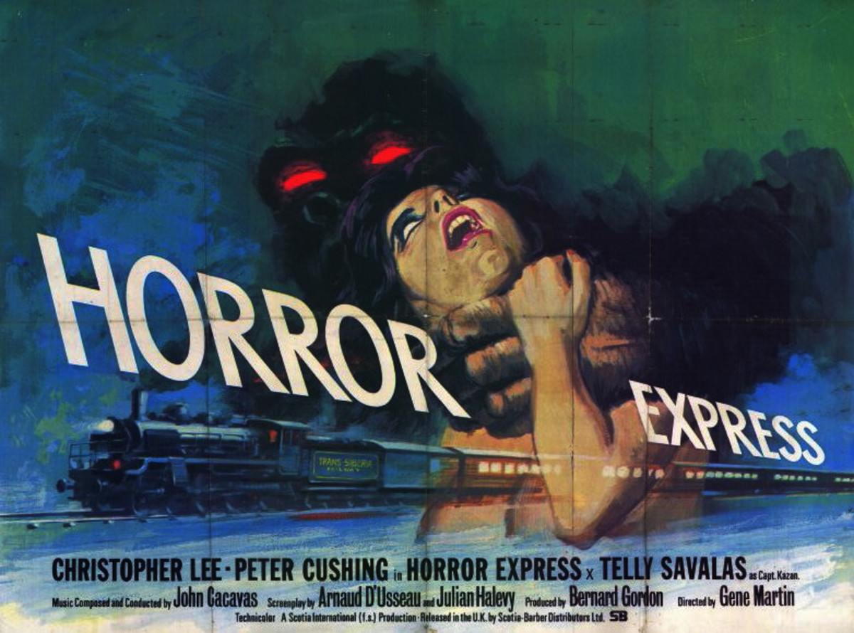 They don't make horror posters this cool anymore!