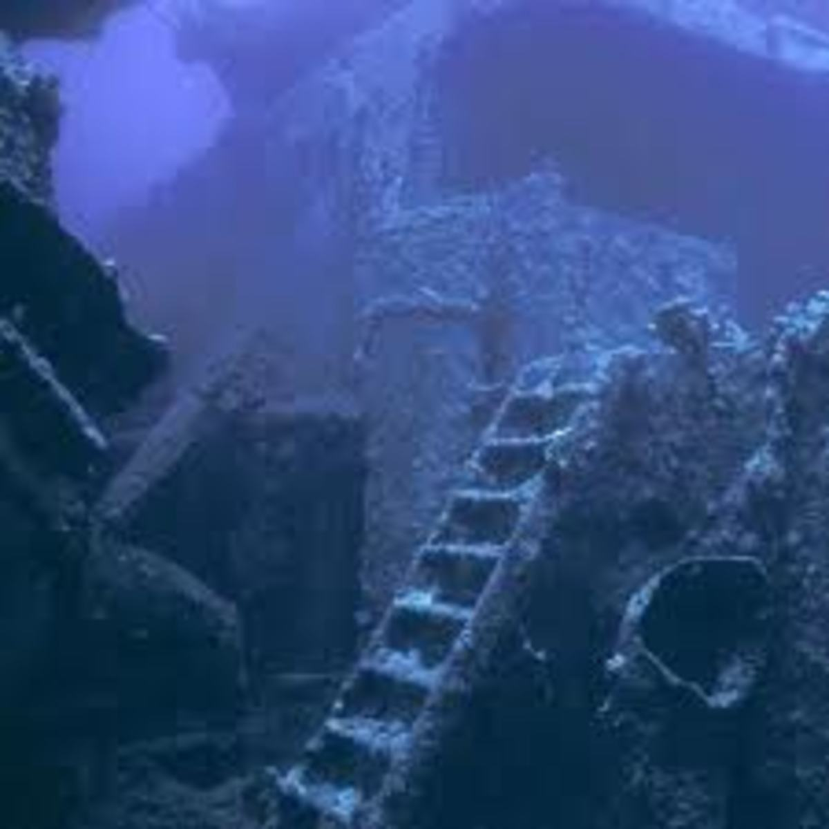 The famous wreck of the S.S Thistlegorm in the Red Sea.