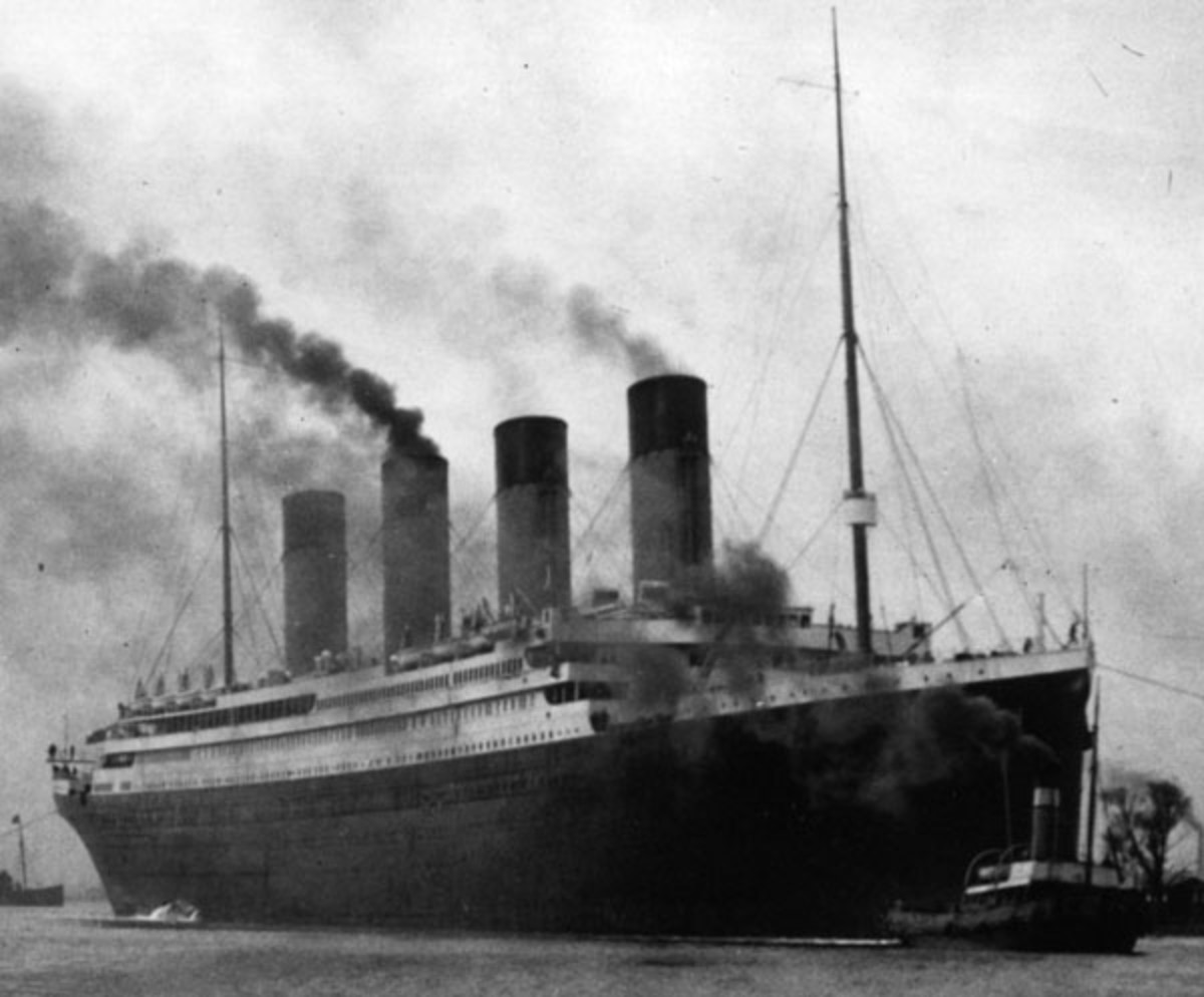 The RMS Titanic in full working order.