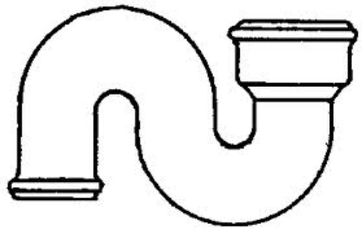 S Trap or S Shaped Plumbing