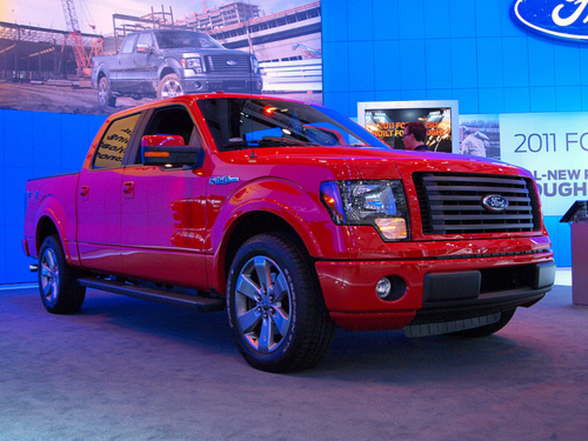 The Best Comparison of the 2012 Chevy, Dodge and Ford Half Ton Pickup Trucks