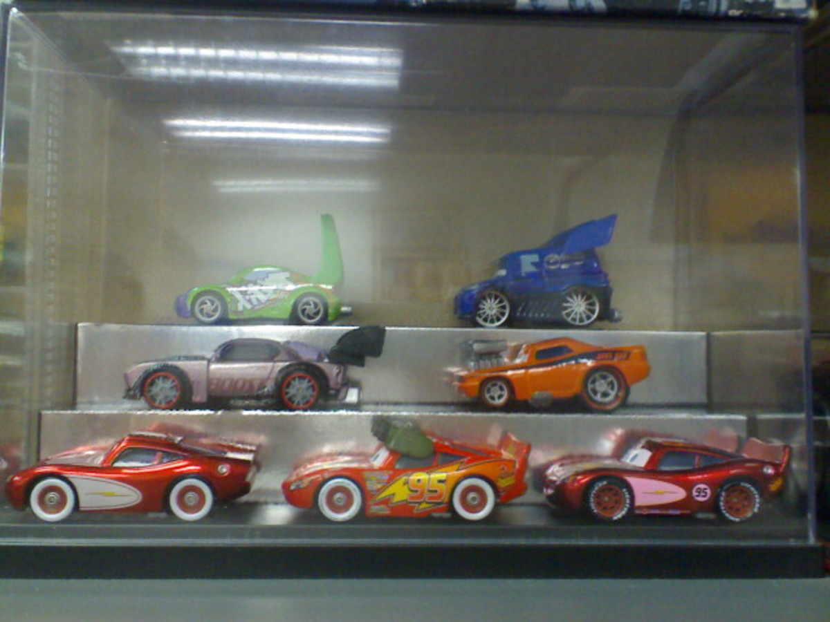 Rare Disney CARS diecast collectible