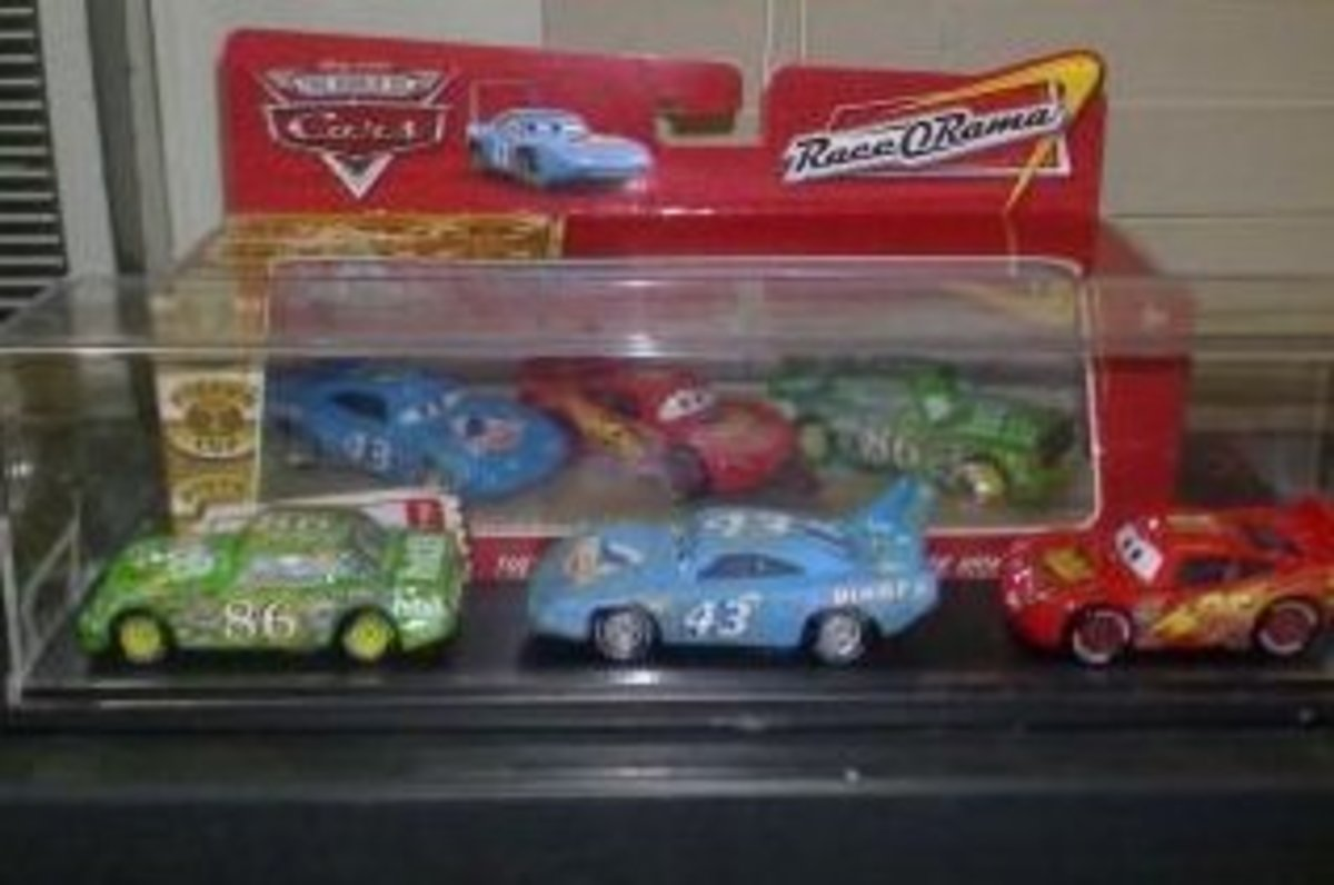 The Piston Cup Finalists of the first movie