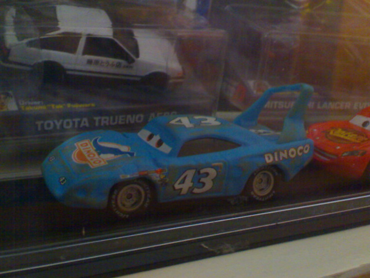 Damage The King diecast replica