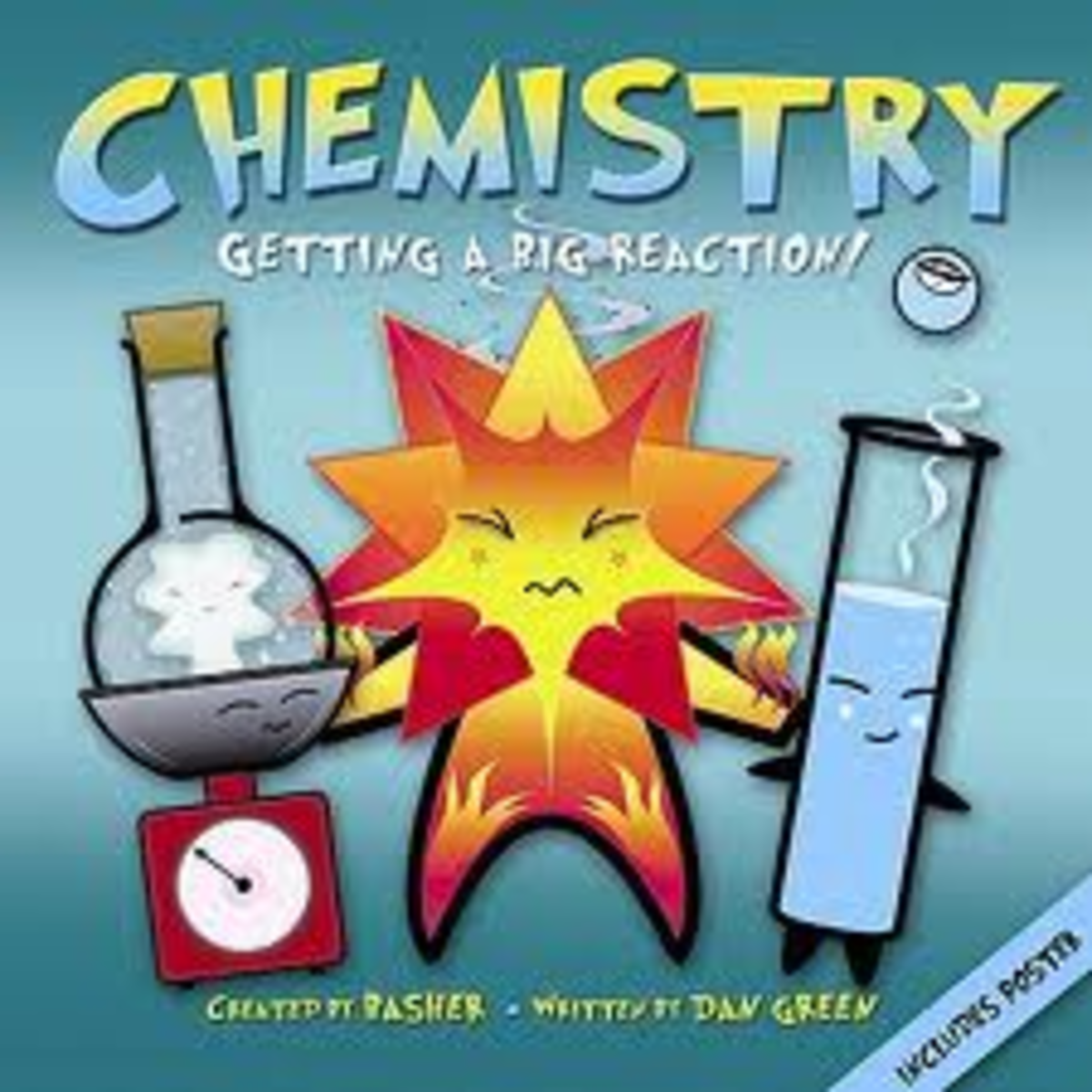 The Basher series has several fun science books for kids