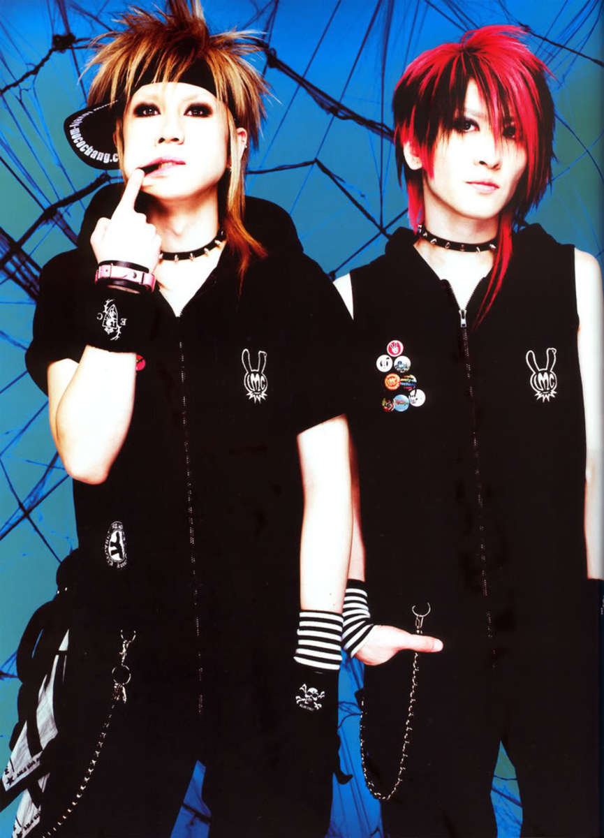 Visual Kei styles from popular Japanes band, LM. C.