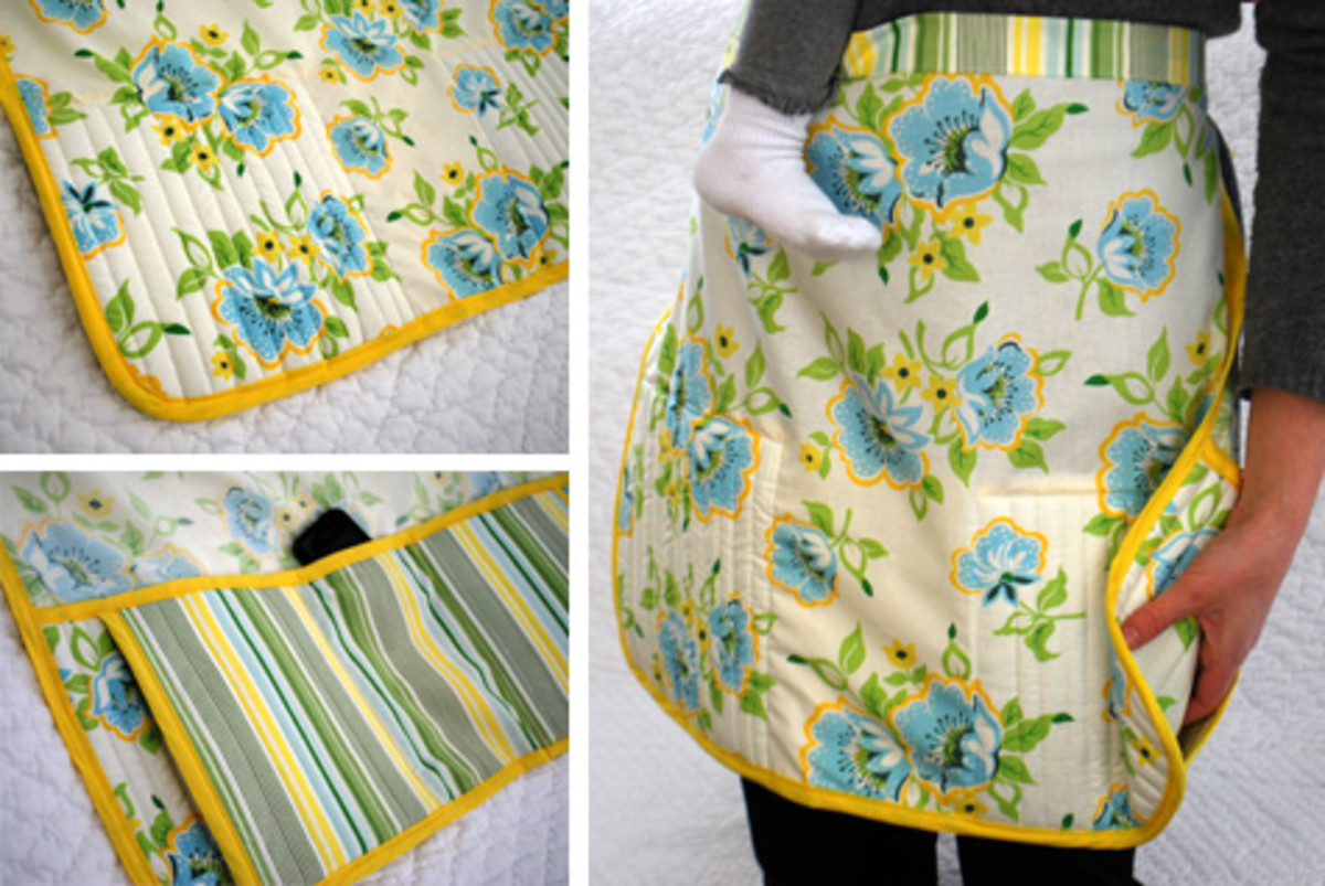 Insulated Pockets Apron