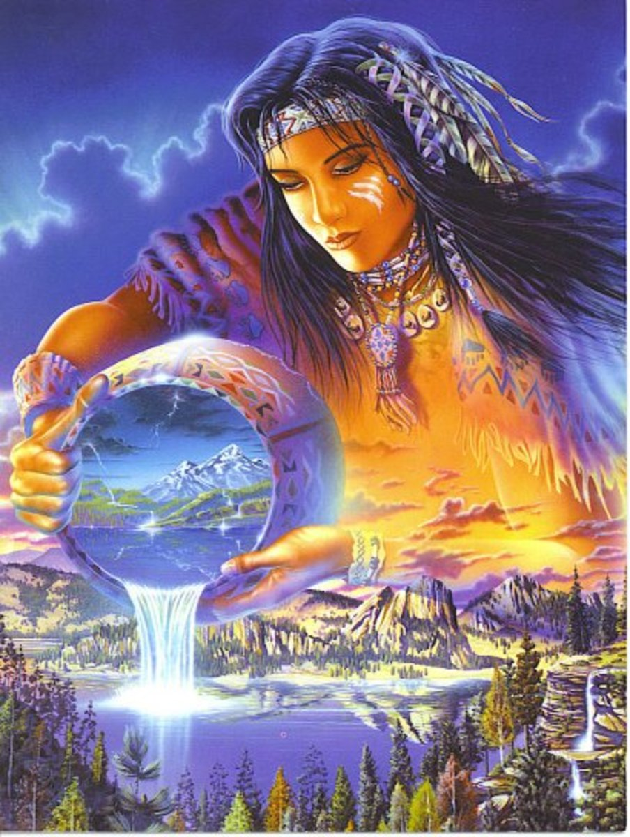 Native American version of Mother Earth