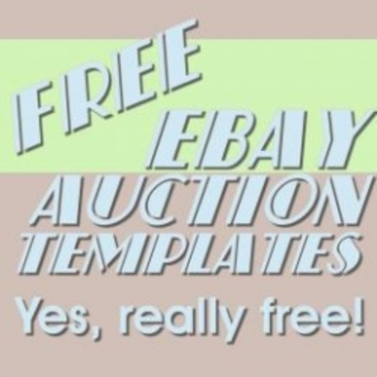Free Ebay Auction Templates