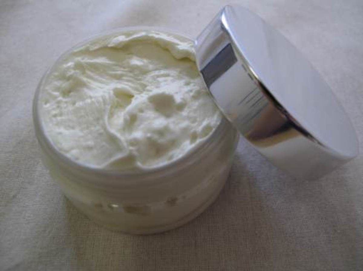 coconut oil and cocoa butter body butter