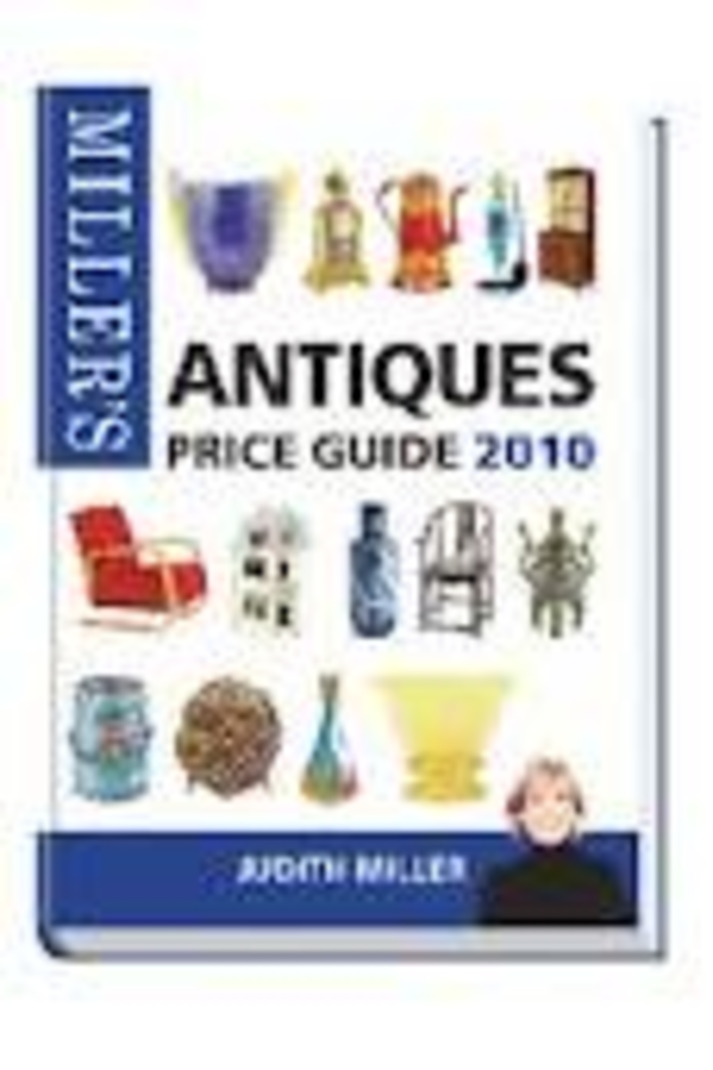 How to find antiques and collectibles at charity shops and garage sales.