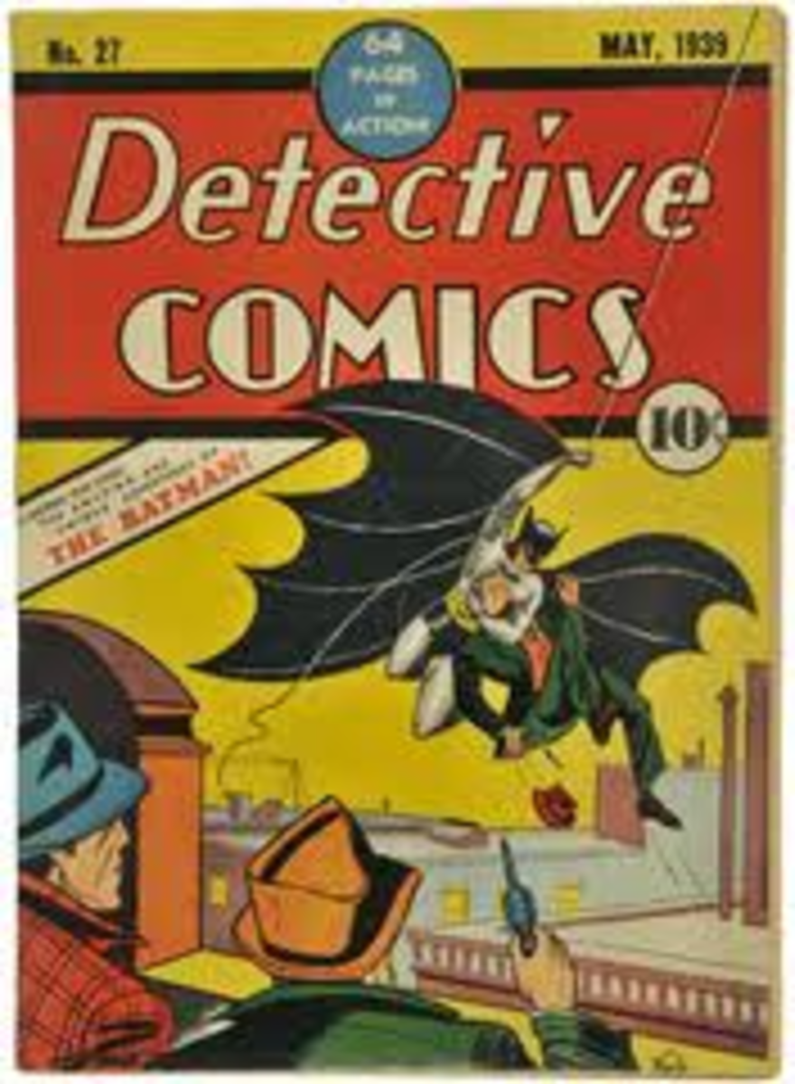 An early first edition comic- very rare