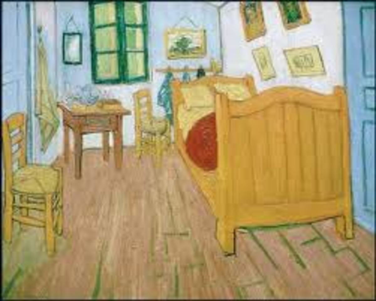 Look for rare and valuable paintings like this Van Gogh