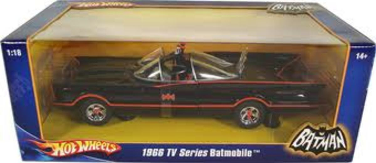 1966 Batmobile by Matchbox toys