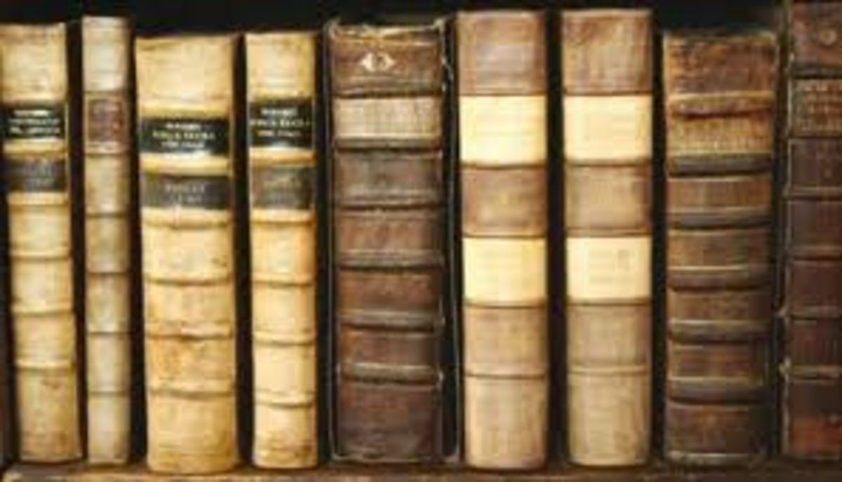 Rare Vintage books are not too hard to find