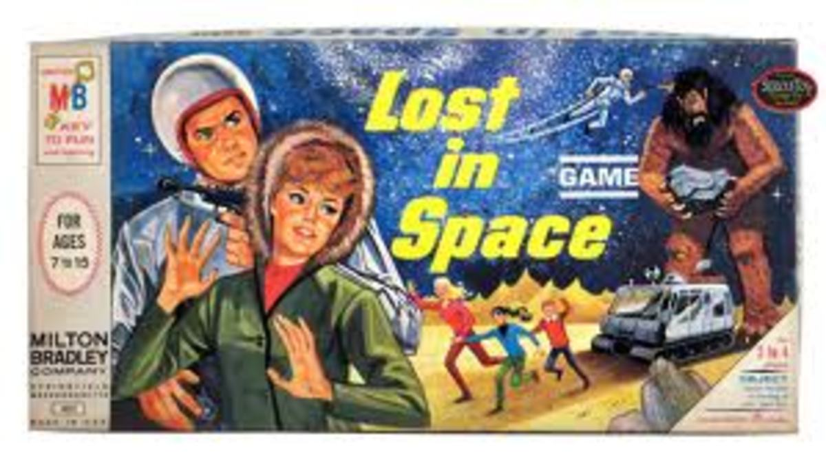 Look out for 1950s/1960's board games